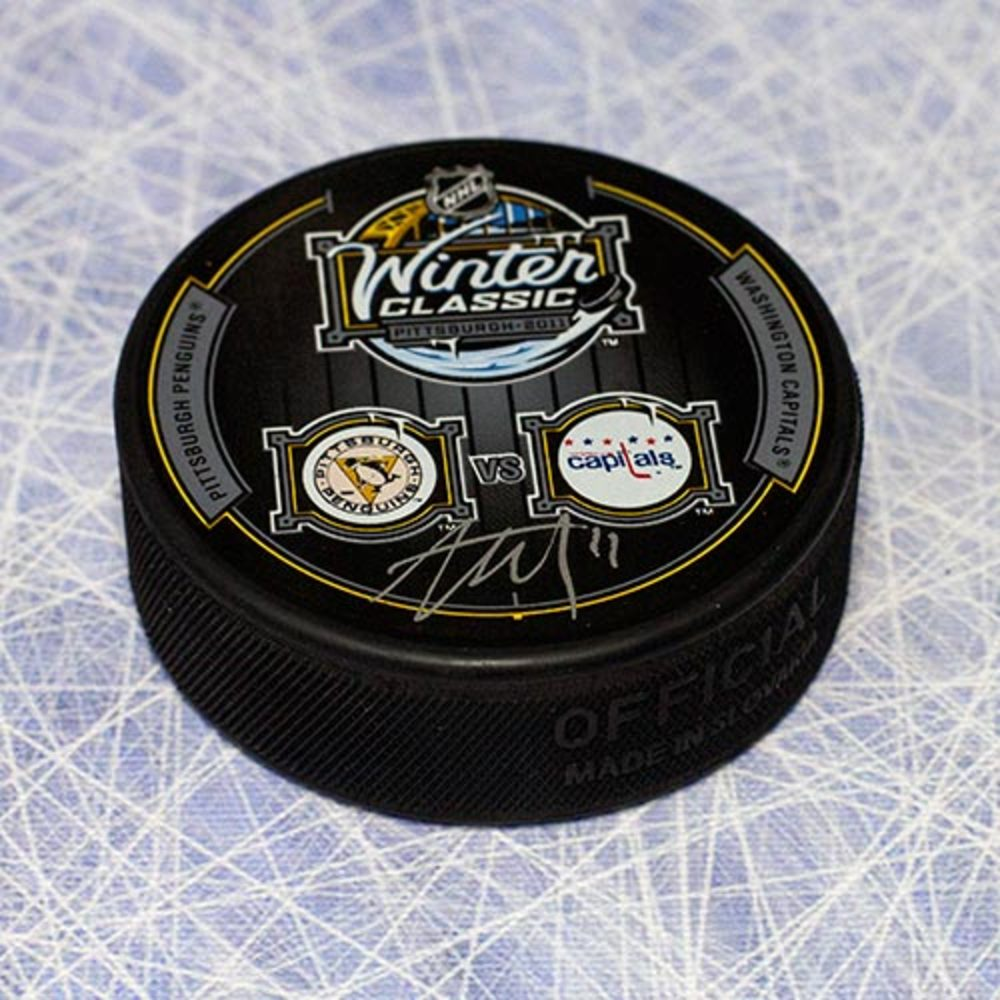 Jordan Staal Pittsburgh Penguins Autographed 2011 Winter Classic Puck