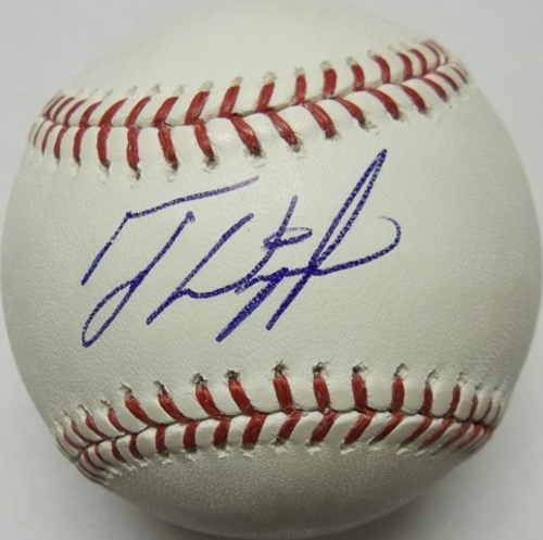 Photo of Ty Wigginton Autographed Baseball