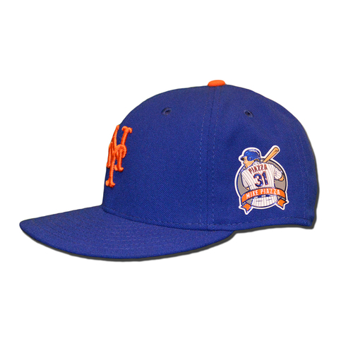 Photo of Kelly Johnson #55 - Game Used Mike Piazza Retirement Hat - Mets vs. Rockies - 7/30/16