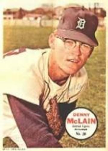 Photo of 1967 Topps Posters Inserts #20 Denny McLain