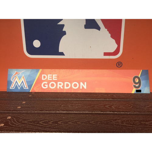 Photo of Dee Gordon Locker Tag