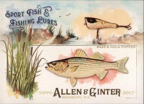 Photo of 2017 Topps Allen and Ginter Sport Fish and Fishing Lures #SFL4 Bass