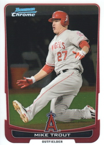 Photo of 2012 Bowman Chrome #157 Mike Trout