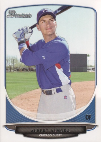 Photo of 2013 Bowman Draft Top Prospects #TP4 Albert Almora Cubs post-season