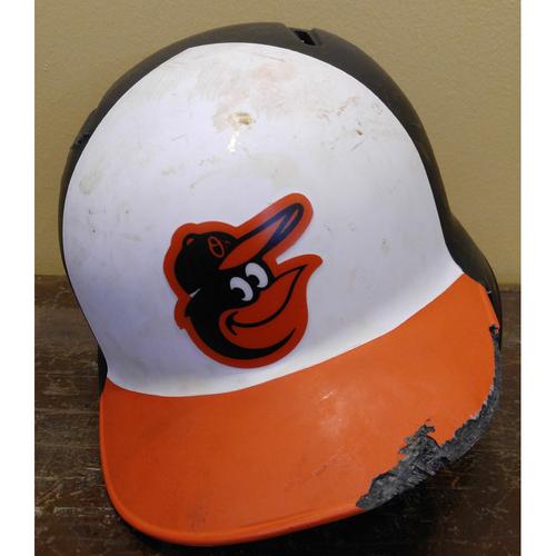 Jonathan Schoop - Batting Helmet: Team-Issued