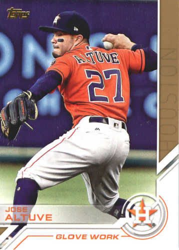 Photo of 2017 Topps Update Salute #USS2 Jose Altuve