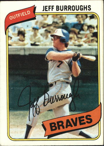 Photo of 1980 Topps #545 Jeff Burroughs