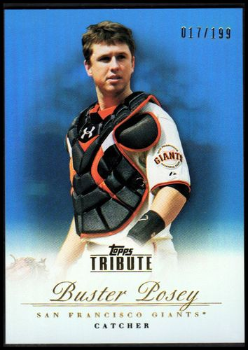 Photo of 2012 Topps Tribute Blue #61 Buster Posey