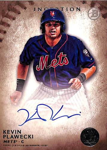 Photo of 2015 Bowman Inception Prospect Autographs #PAKP Kevin Plawecki