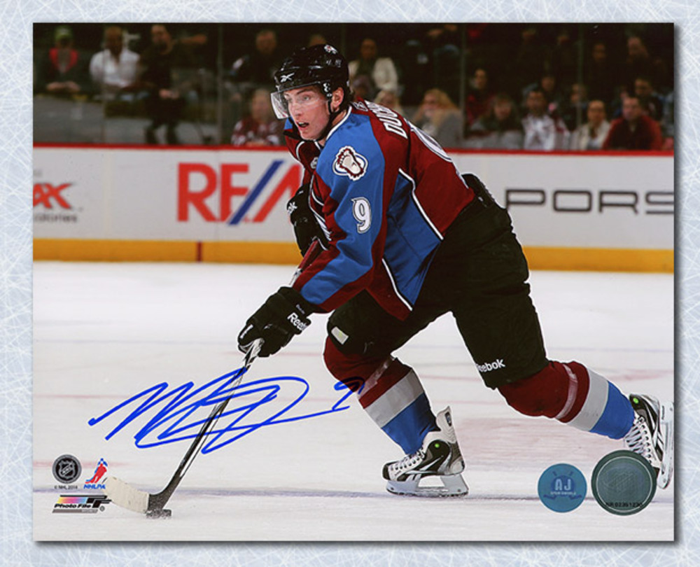 Matt Duchene Colorado Avalanche Autographed Horizontal Action 8x10 Photo