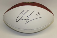RAMS - CHRIS LONG SIGNED PANEL BALL