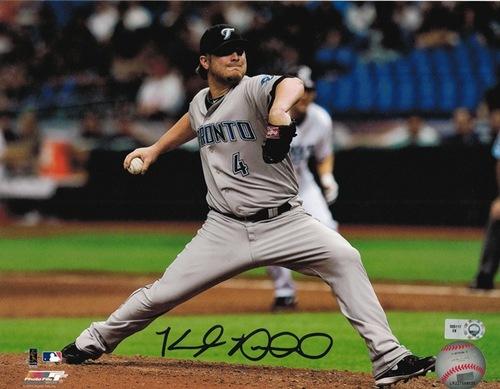 Kyle Drabek Autographed 8x10