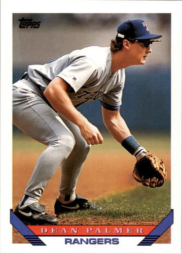 Photo of 1993 Topps #545 Dean Palmer