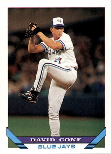 Photo of 1993 Topps #720 David Cone