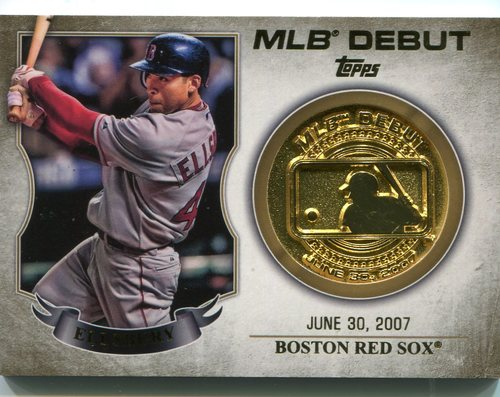 Photo of 2016 Topps MLB Debut Medallion #MDMJE Jacoby Ellsbury -- Yankees post-season