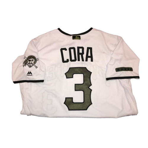Photo of Joey Cora Game-Used Memorial Day Weekend Jersey