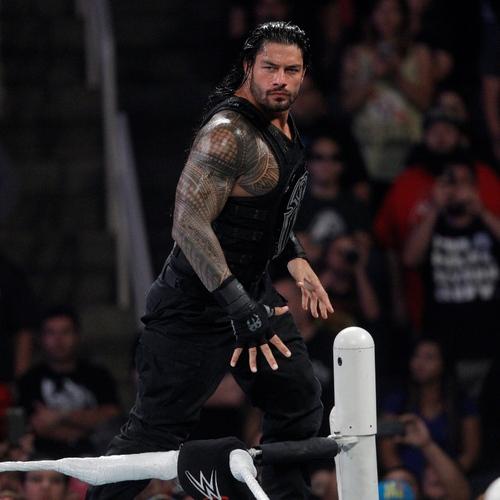 Photo of Roman Reigns WORN & SIGNED Glove & Wristband Set (RAW - 08/03/15)