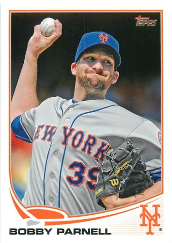 Photo of 2013 Topps #139 Bobby Parnell