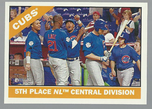 Photo of 2015 Topps Heritage #204 Chicago Cubs
