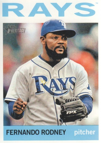 Photo of 2013 Topps Heritage #183A Fernando Rodney
