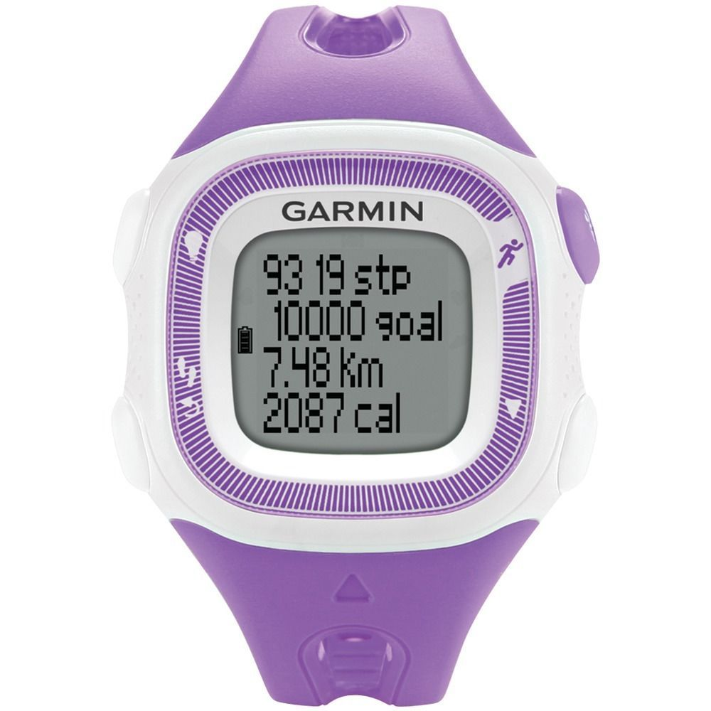 Garmin 010-N1241-22 Forerunner 15 Color Violet / White  Size Small