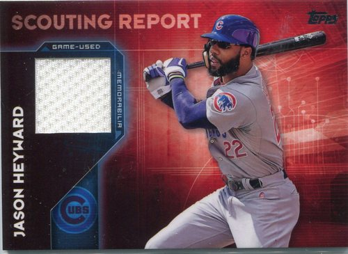 Photo of 2016 Topps Scouting Report Relics #SRRJH Jason Heyward S2