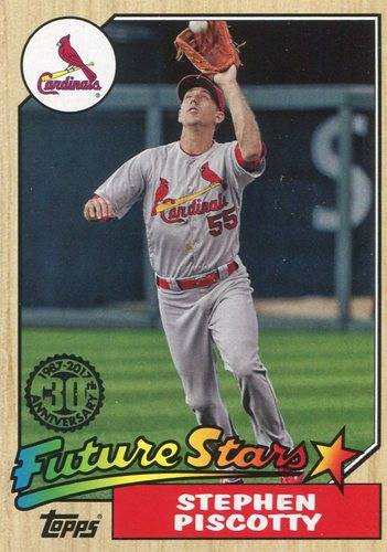 Photo of 2017 Topps '87 Topps #8791 Stephen Piscotty
