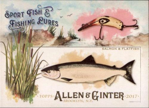 Photo of 2017 Topps Allen and Ginter Sport Fish and Fishing Lures #SFL5 Salmon