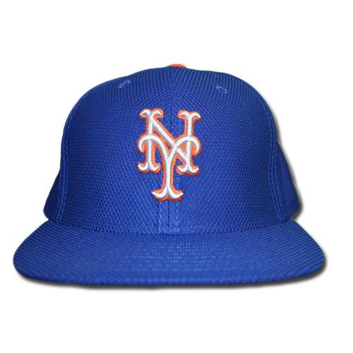 Photo of Matt Reynolds #15 - Game Used Blue Alternate Road Hat - Mets vs. Phillies - 10/2/16