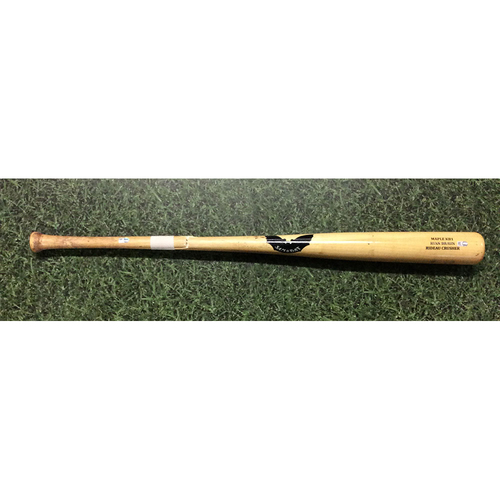 Ryan Braun 2017 Game-Used Cracked Bat