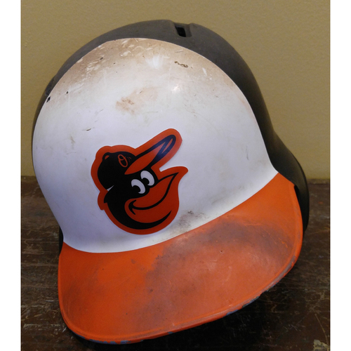 Trey Mancini - Batting Helmet: Team-Issued