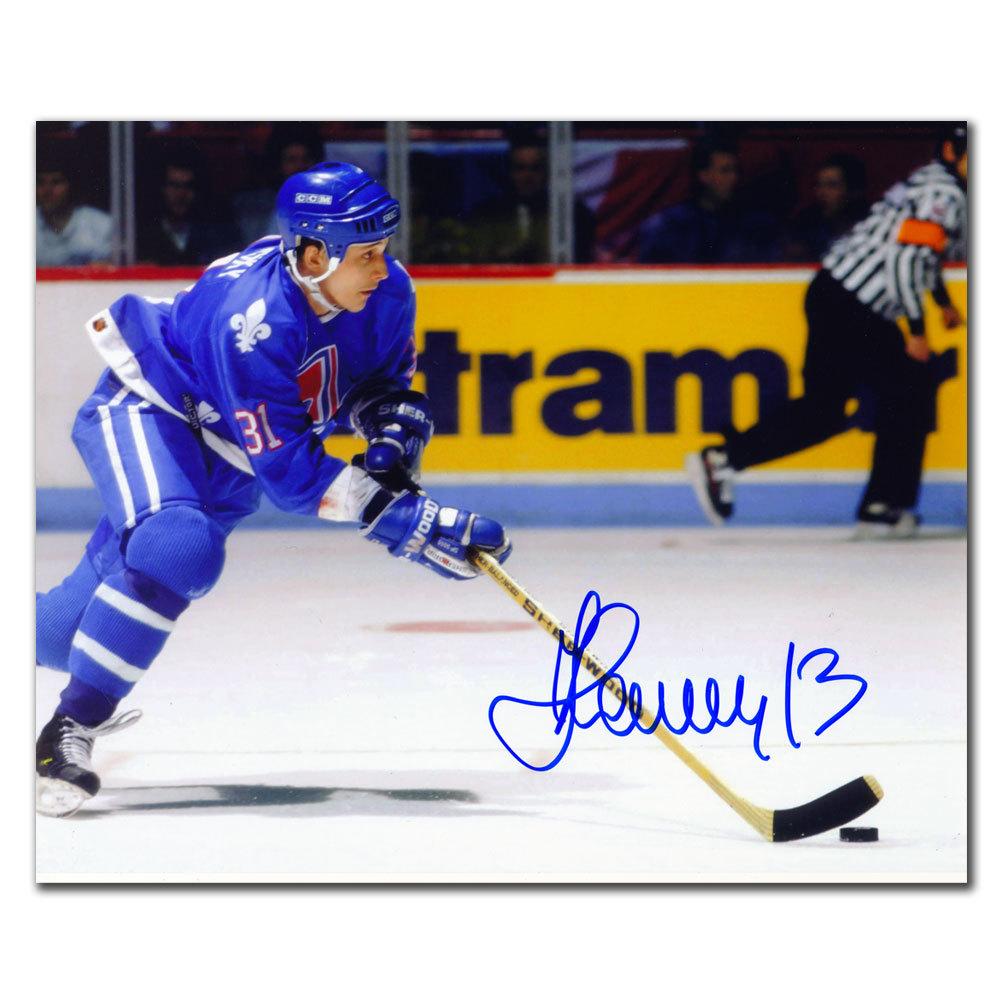 Valeri Kamensky Quebec Nordiques Autographed 8x10