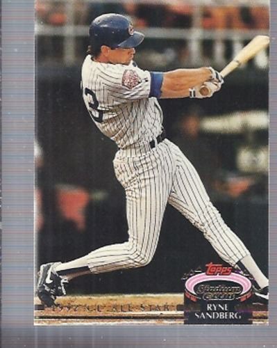 Photo of 1993 Stadium Club Murphy #44 Ryne Sandberg AS