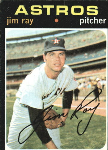 Photo of 1971 Topps #242 Jim Ray