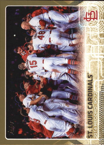 Photo of 2015 Topps Gold #648 St. Louis Cardinals BB