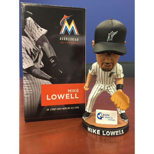 Photo of Marlins Charity Auction, Mike Lowell Bobblehead