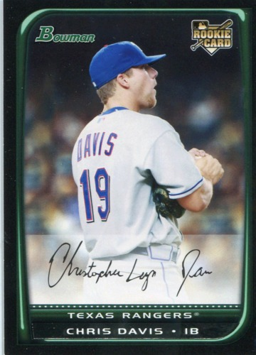 Photo of 2008 Bowman Draft #BDP14 Chris Davis RC