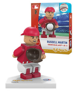 Toronto Blue Jays Russell Martin Red Alt Jersey Toy Figurine by OYO Sports