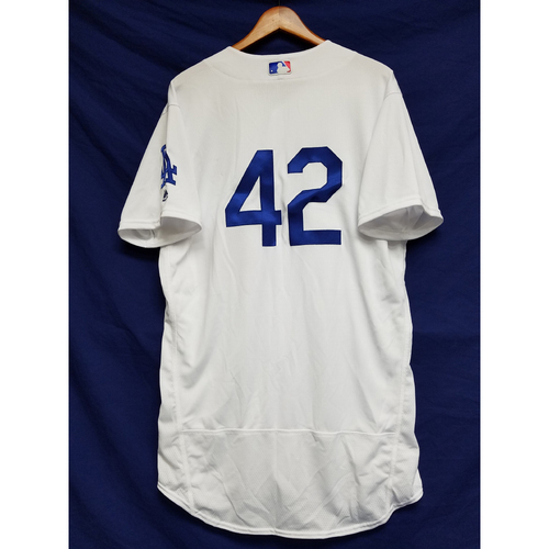 "Photo of Brandon Morrow Team-Issued ""42"" Jersey"