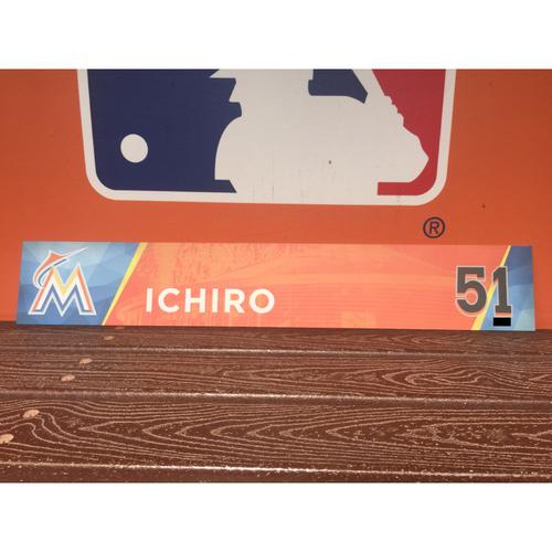 Photo of Ichiro Suzuki Locker Tag