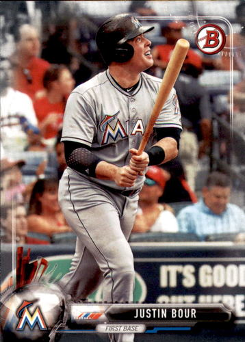 Photo of 2017 Bowman #95 Justin Bour