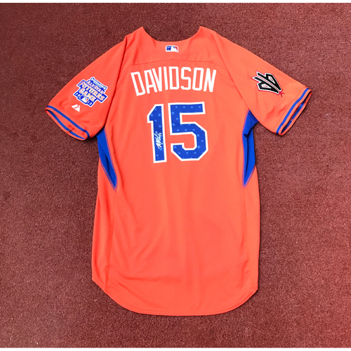Photo of 2017 All-Star Auction: Matt Davidson Autographed 2013 All-Star Futures Game Jersey