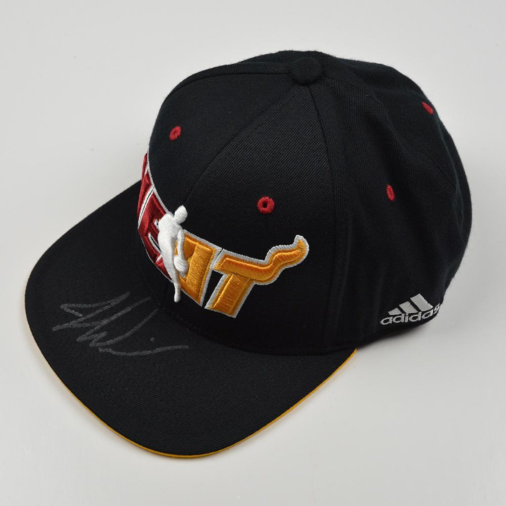 Justise Winslow - Miami Heat - 2015 NBA Draft - Autographed Hat