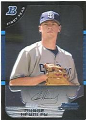 Photo of 2005 Bowman Chrome Draft #119 Chase Headley Rookie Card -- Yankees post-season