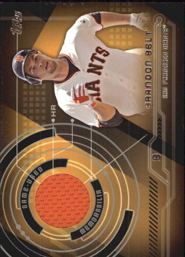 Photo of 2014 Topps Trajectory Relics #TRBBE Brandon Belt