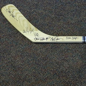Flyers Charities Stick Auction: Pearl Jam signed Philadelphia Flyers Stick