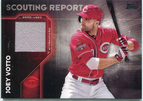 Photo of 2016 Topps Scouting Report Relics #SRRJV Joey Votto S2