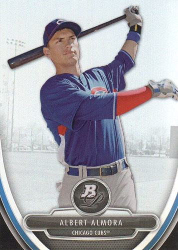 Photo of 2013 Bowman Platinum Prospects #BPP31 Albert Almora Cubs post-season