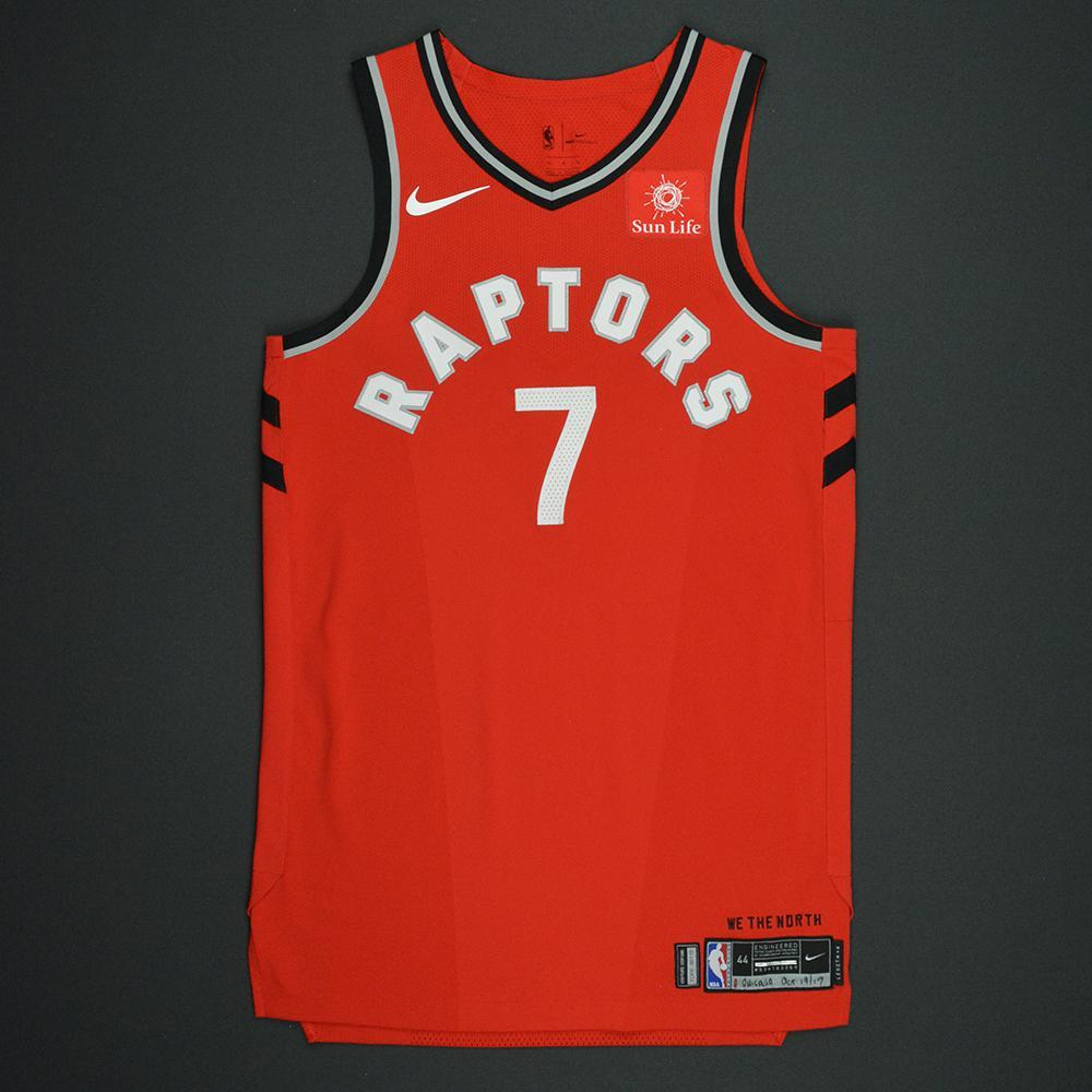 Kyle Lowry - Toronto Raptors - Kia NBA Tip-Off 2017 - Game-Worn Jersey