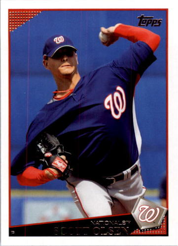 Photo of 2009 Topps #505 Scott Olsen